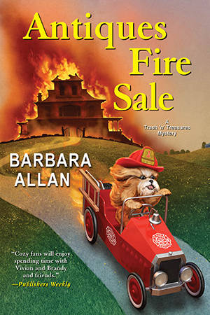 Antiques Fire Sale Paperback cover