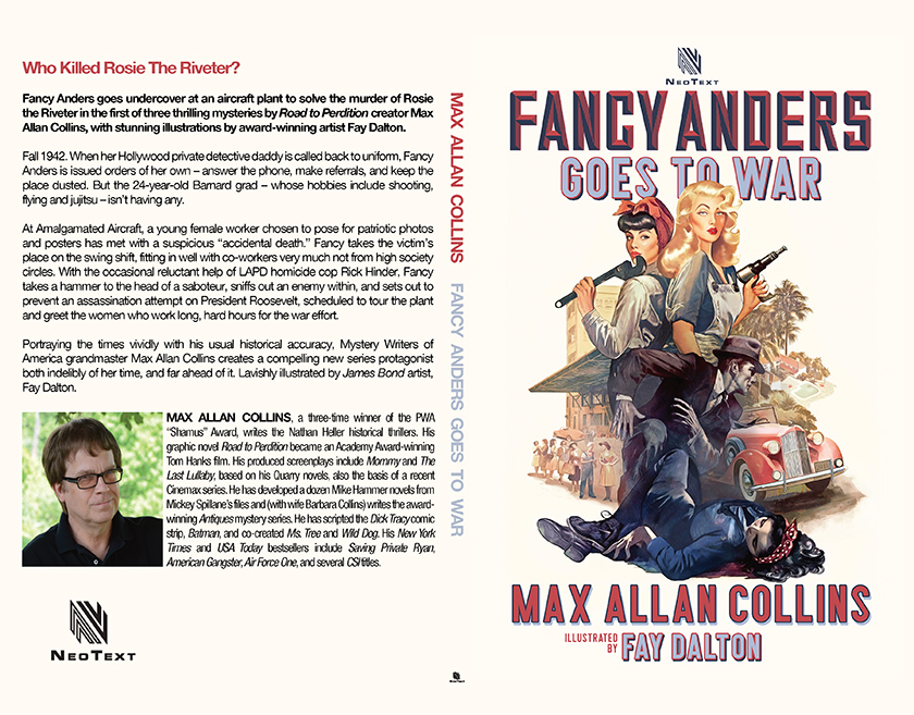 Fancy Anders Goes to War Print Cover