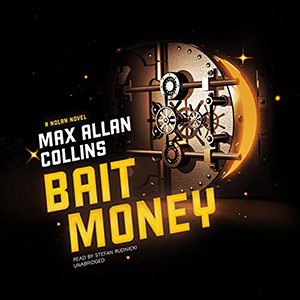 Cover of the Skyboat audiobook edition of Bait Money