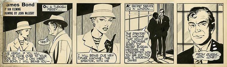 James Bond UK Comic Strip